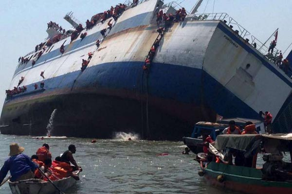 Death toll reach to 63 ferry accident Indonesian