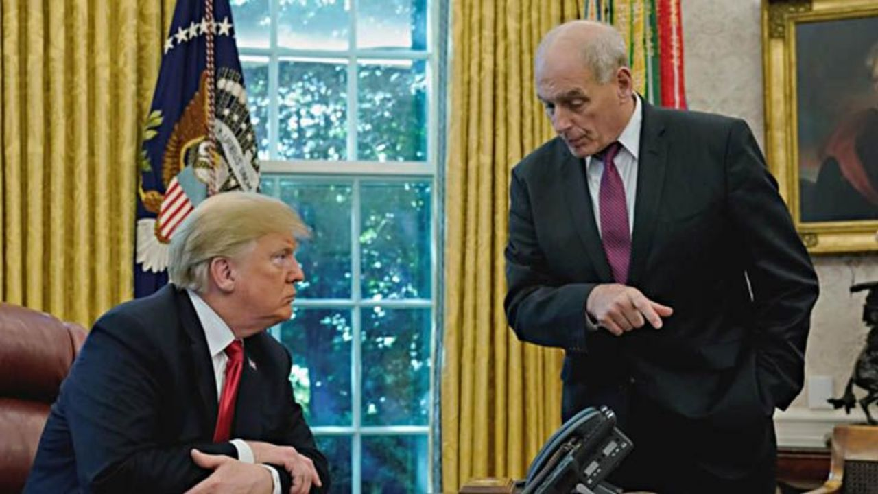 Trump risks return of White House chaos with Kelly