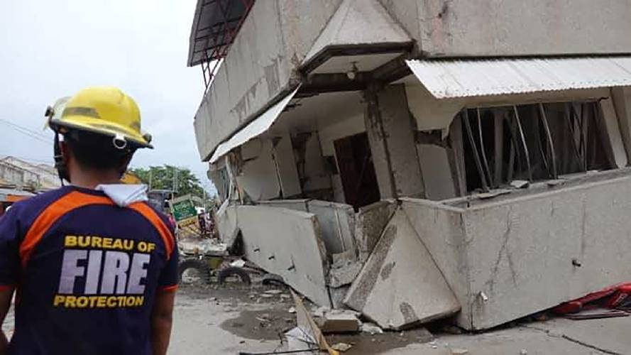 Strong quake kills 1 in Philippines