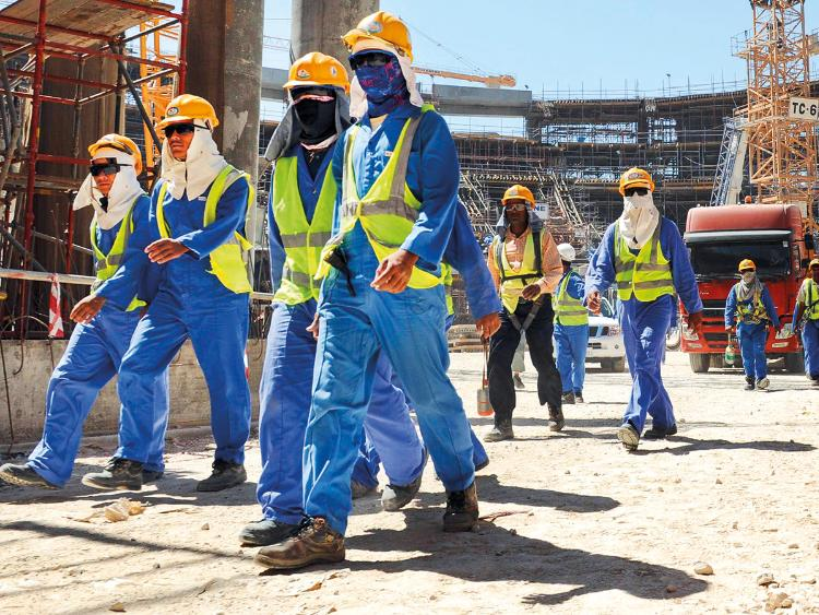 Qatar covered up the death of 1200 workers
