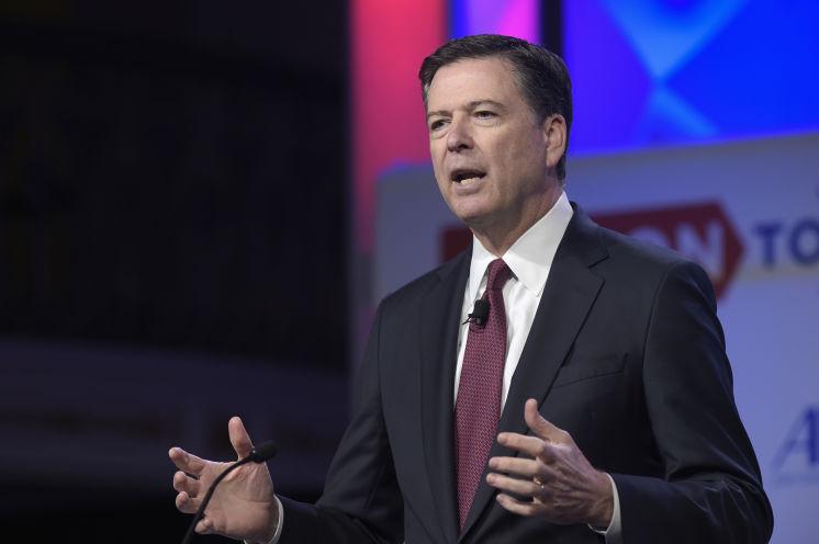 Donald Trump fires FBI director James Comey