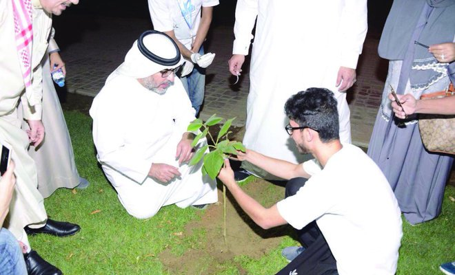 """Jeddah:"""" Greenery in our hands"""" initiative"""