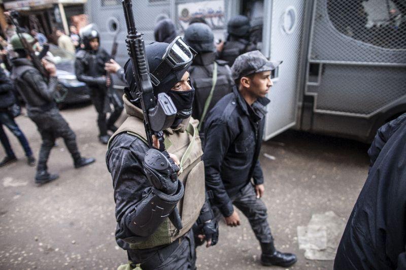 3 policemen killed by gunmen in Egypt