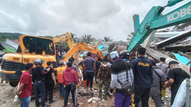 At least 34 people killed as quake rocks Indonesia
