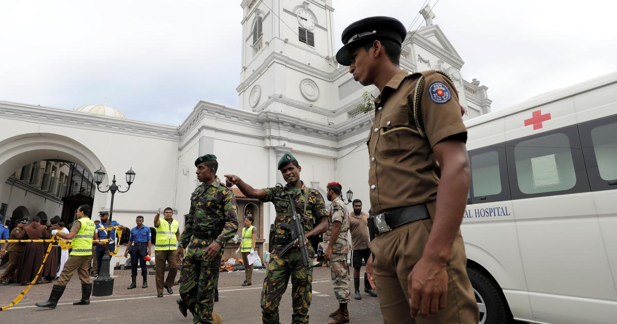 Six children among 15 dead in raids on terror hideouts in Sri Lanka