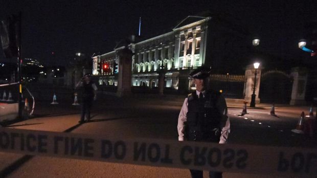 Buckingham Palace in lockdown after