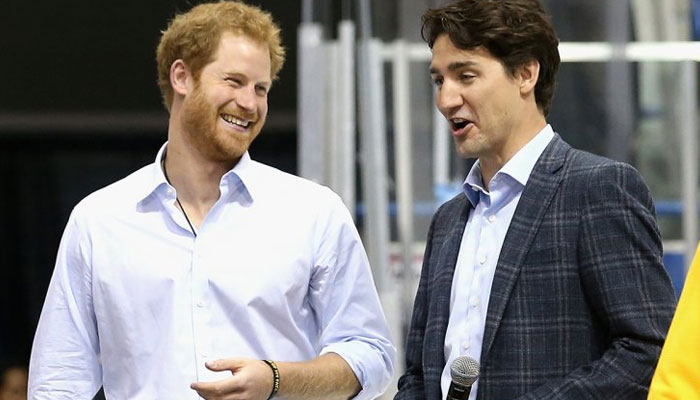 Canada PM Trudeau denies talking to queen about Harry, Meghan security