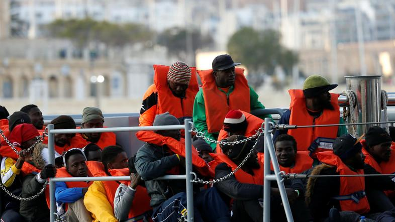 Malta rescues 85 migrants from sinking boat
