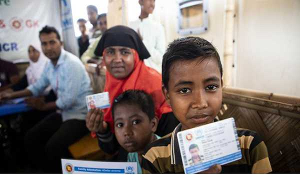 Over two lakh Rohingya refugees receive identity cards for first time