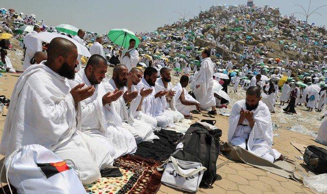 Two million Hajj pilgrims complete journey to Mount Arafat