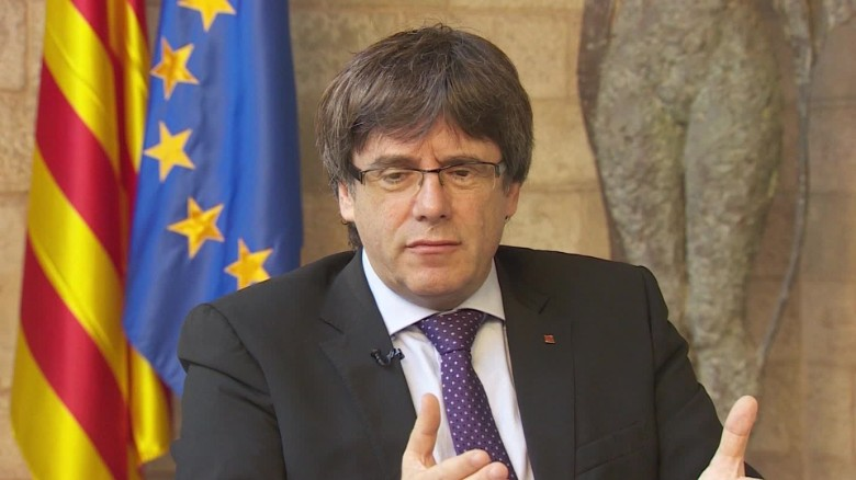Spanish PM refuses to hold talks with former Catalan leader Puigdemont