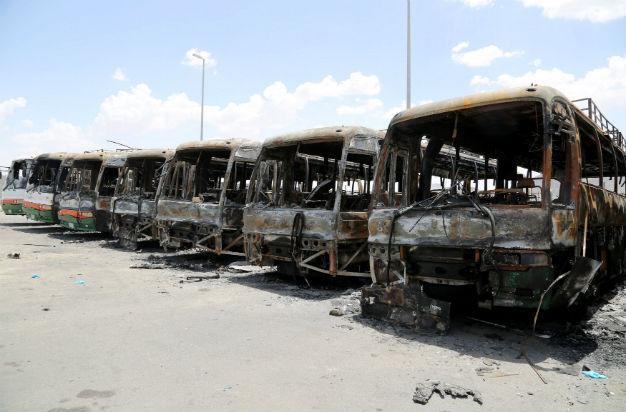 saudibinladingroupemployeessetfiretobusesinprotestafterhugelayoffs
