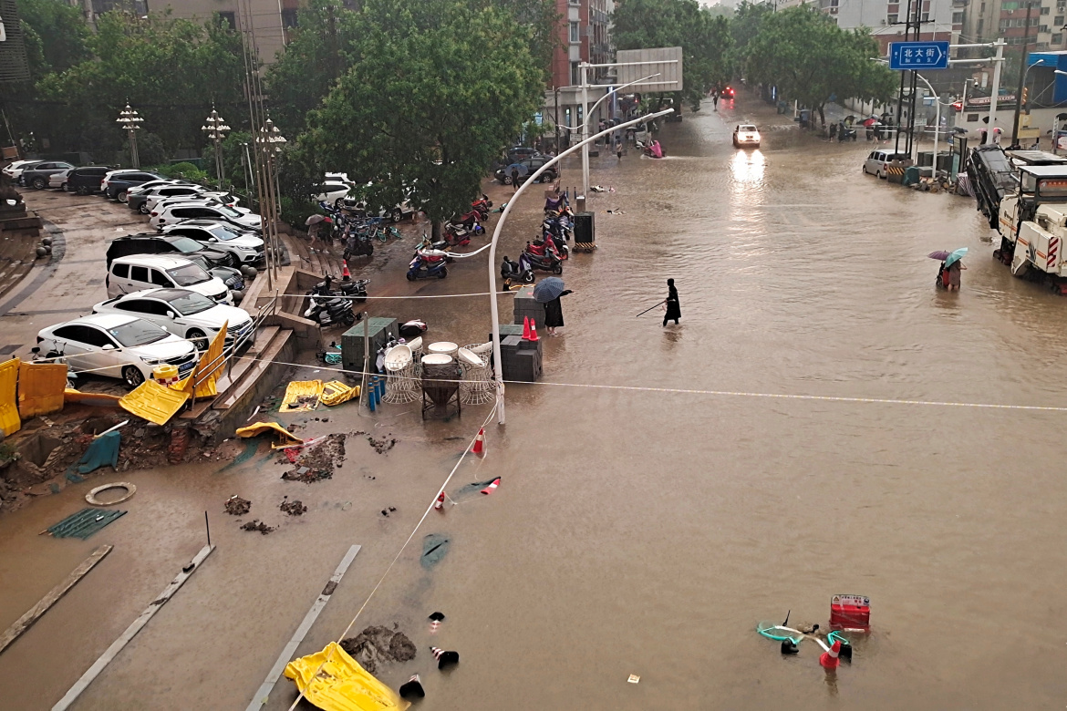25 people killed in China due to floods