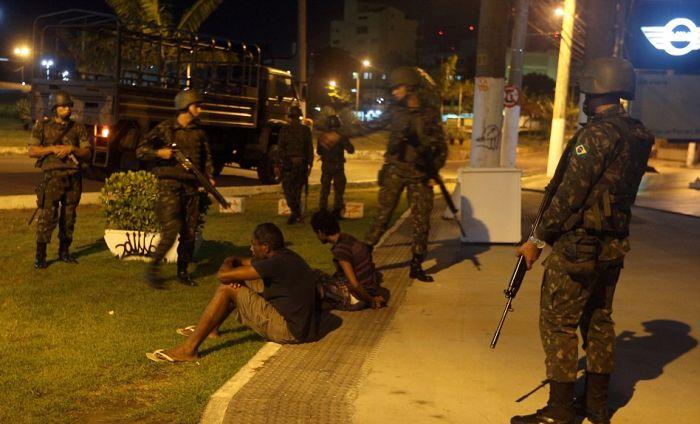 Violence erupts in Brazil