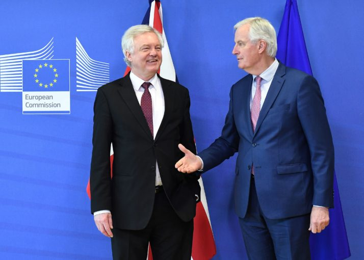 British, EU negotiators reach agreement on terms of Brexit deal