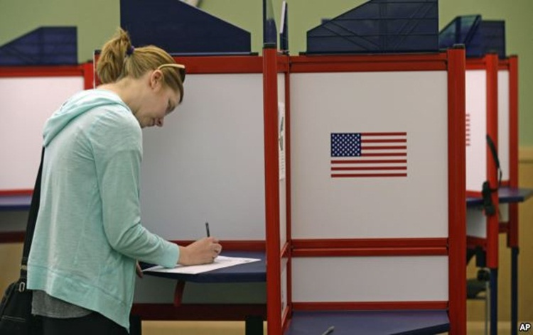 US votes in mid term elections, results expected by this afternoon