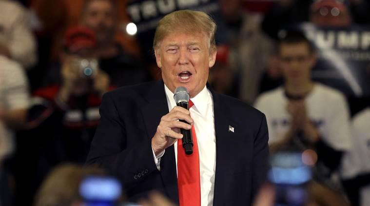 Trump declares himself presumptive nominee after sweeping five primaries
