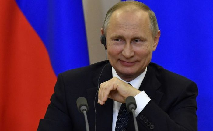 Putin sworn in for fourth term as Russia president