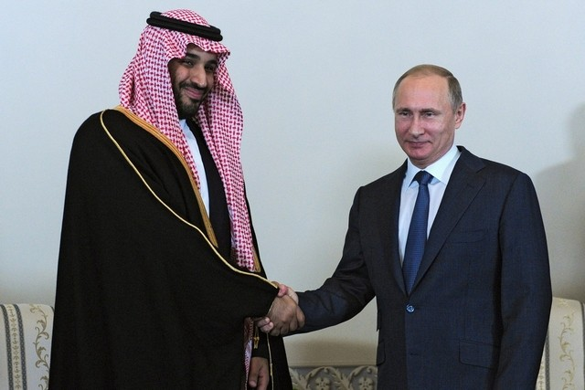Saudi deputy crown prince strengthens ties with Russia