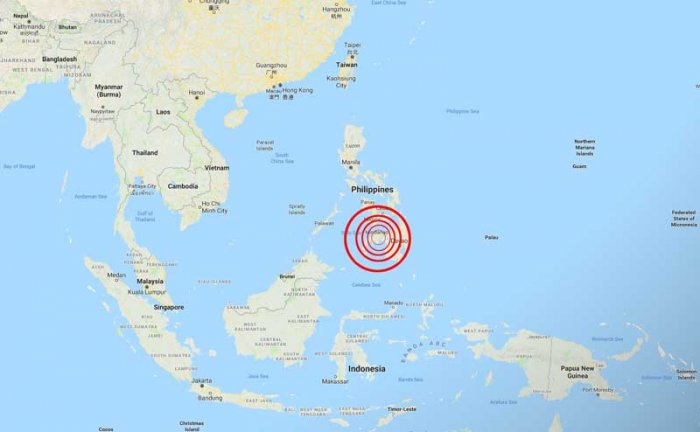 6.9-magnitude earthquake strikes southern Philippines