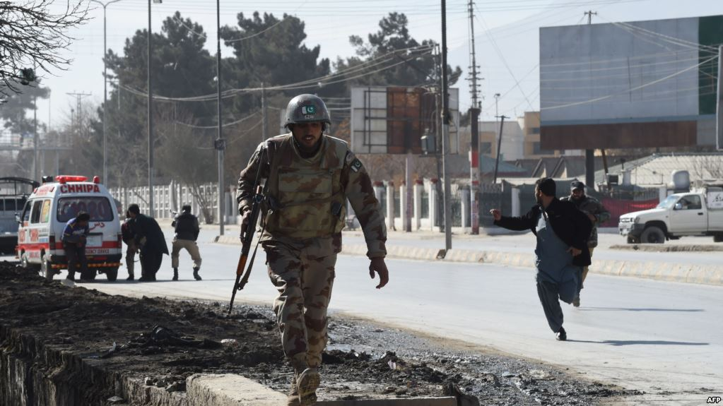 At least six police officers killed in Taliban attack in Pakistan