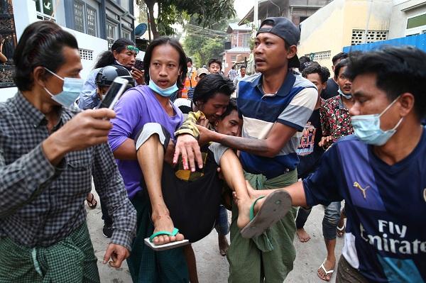 12peoplekilledinsecurityforcesfiring:myanmar