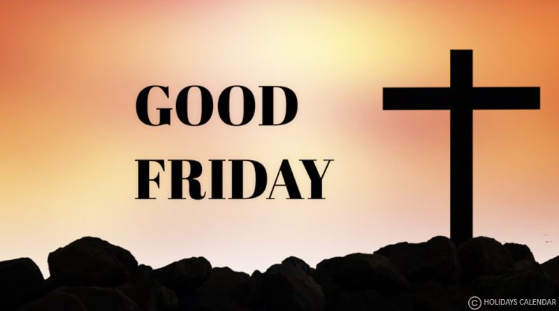 Good Friday being observed today