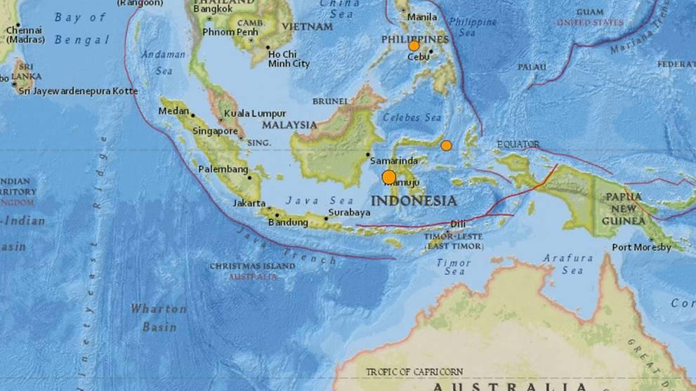 5.1-magnitude earthquake strikes Sulawesi, Indonesia