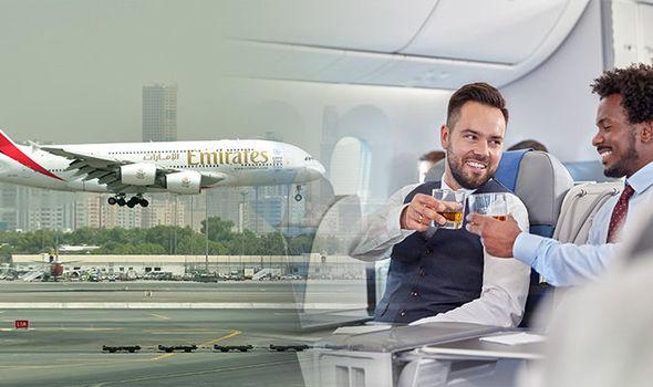 Dubai flight Emirates confirm alcohol is