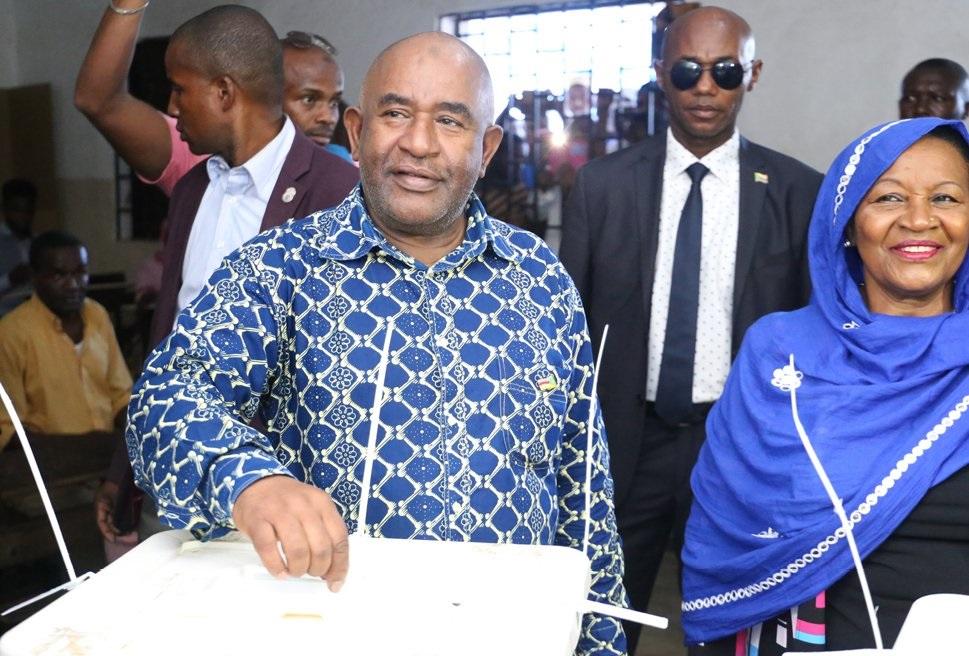 Comoros President Azali Assoumani re-elected with over 60% of votes
