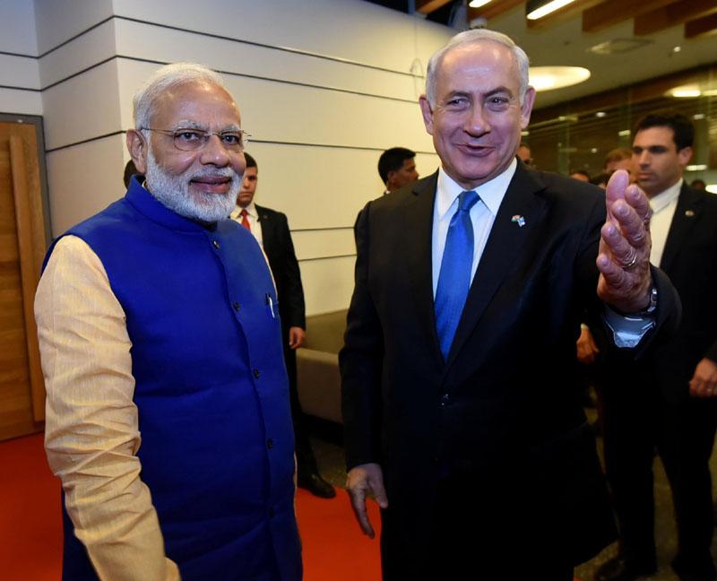 India & Israel elevate their ties to strategic partnership