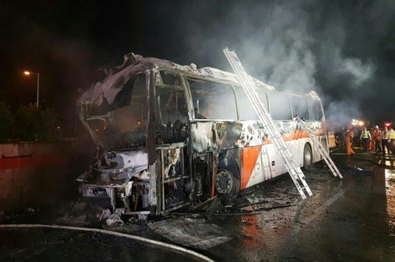 10 South Korean school children die in China bus crash