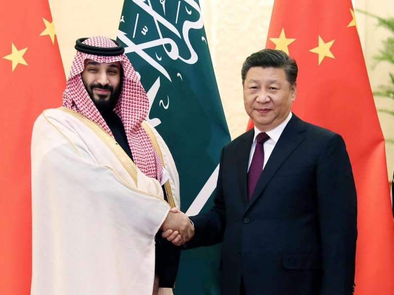 Saudi crown prince suggests China has