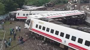 At least 22 people dead in train derailment in Taiwan