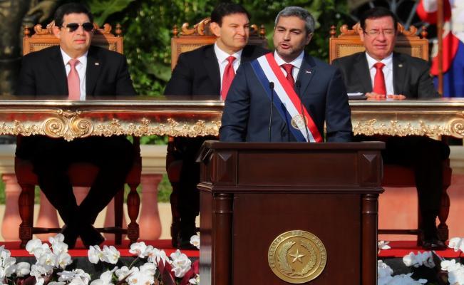 Mario Abdo Benitez sworn in as new President of Paraguay