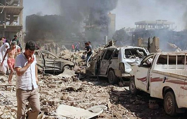 11 killed in Syria bomb explosion