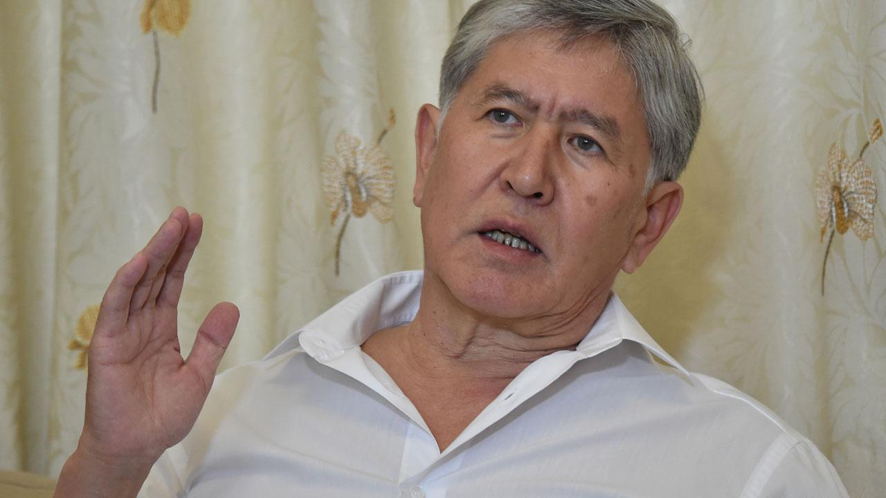 Kyrgyz lawmakers vote to lift immunity of former president Almazbek Atambayev