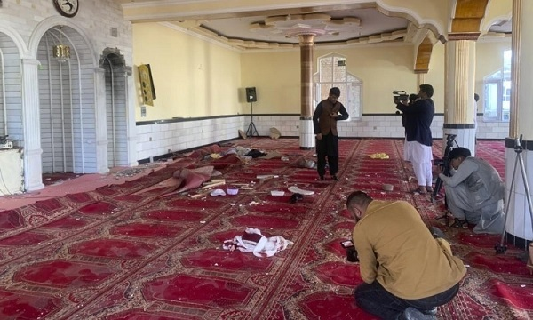 Explosion Inside Mosque On Outskirts of Afghan Capital Kabul Kills At Least 12 People