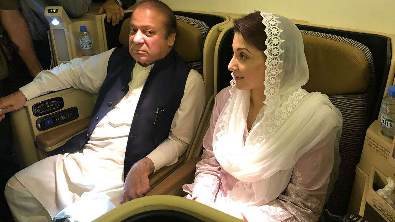 Pakistan court suspends jail term of Nawaz Sharif, daughter and son-in-law