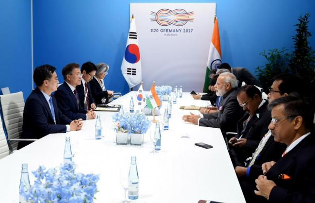 G20 summit: PM Modi meets S. Korean President Moon Jae-in