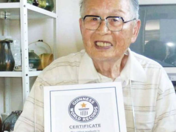 96-year-old Japanese man becomes world