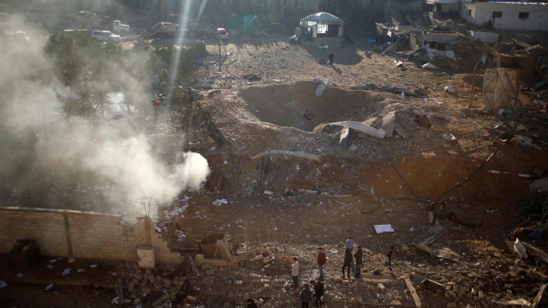 Israel airstrike on Hamas