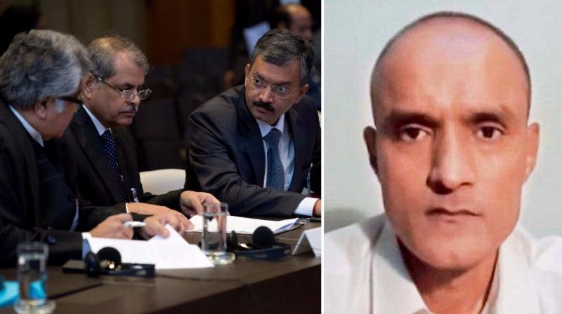 Want immediate suspension of Jadhav death sentence by Pak: India at ICJ