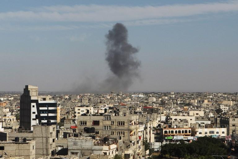 israelstrikesgazainresponsetorocketfire