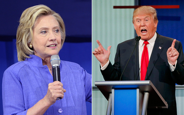 Trump, Clinton poised for landslide victories in Primaries for US Presidential nominations