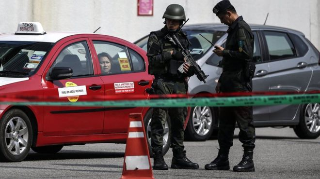More than 400 suspected people detained during counter-terrorism operation in Malaysia
