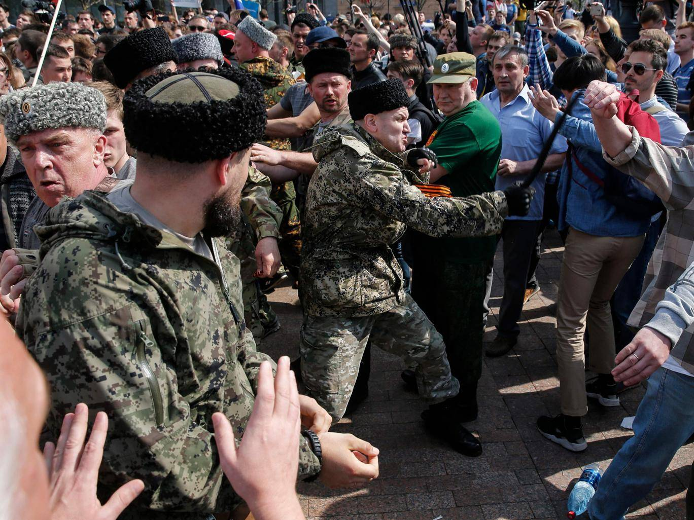 Vladimir Putin deploys Cossacks to Moscow for first time in a century to suppress protests