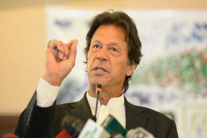 Kashmir first line of defence for Pakistan: PM Khan
