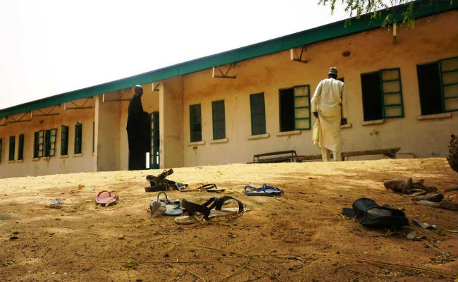 Nigeria confirms 110 girls missing after Boko Haram attack