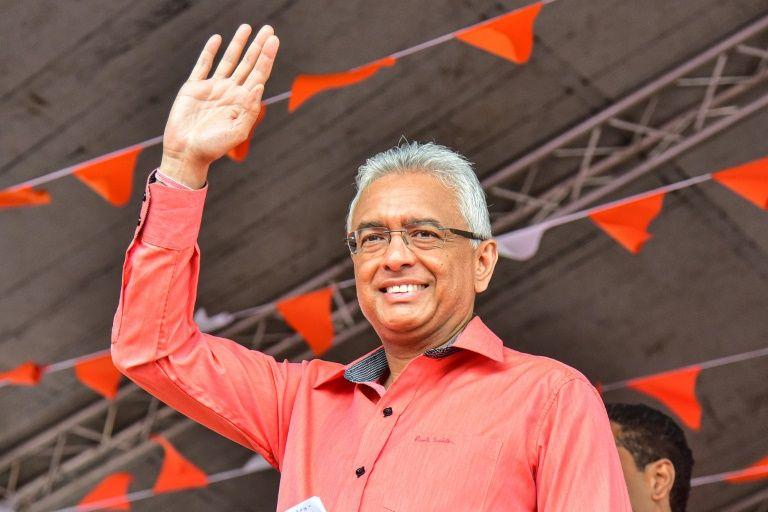 mauritiusprimeministerpravindjugnauthclaimsvictoryintheelection